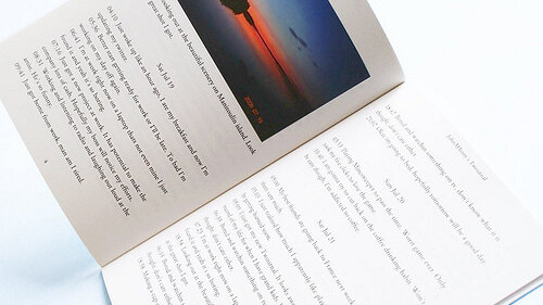 Twournal: Turn your Twitter stream into a printed journal