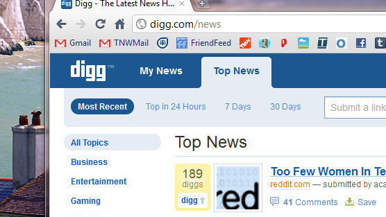 Reddit games the new Digg. Has 7 of its own posts on the front page.