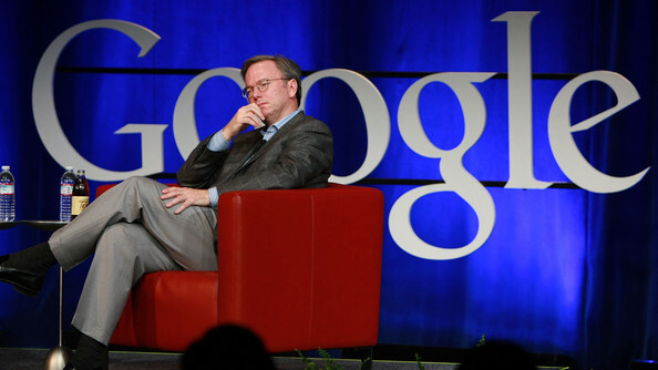 Google's Eric Schmidt: Suggestions and targeted ads are Google's future.