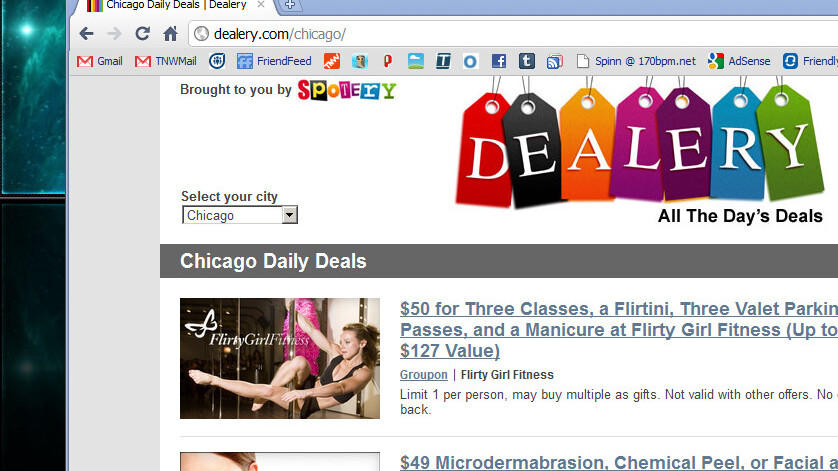 Dealery: A great-looking aggregator for daily social deals