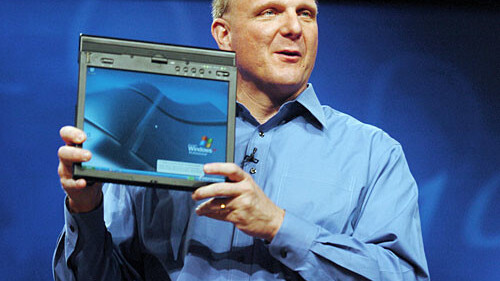 """Ballmer: Android is a """"weird collection"""" of machines."""