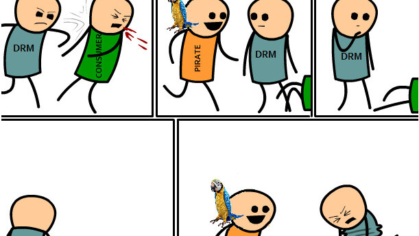 DRM Explained By Cyanide And Happiness [Gross/NSFWish]