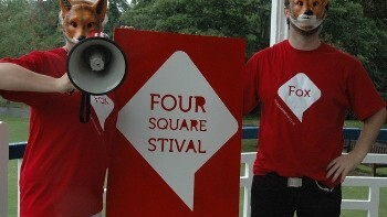 """Foursquare """"Foxhunt"""" was fun, educational… with creepy masks"""