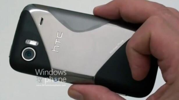 "HTC's Windows Phone 7 Handset Emerges, Codenamed ""Schubert"" [Video]"