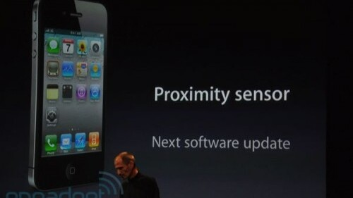 Apple confirms iPhone 4 proximity sensor glitch still not patched