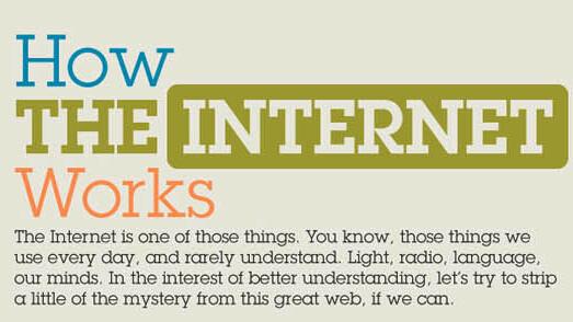 How the Internet works: