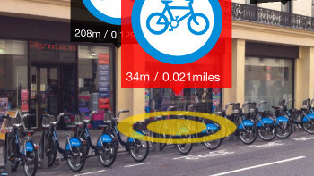 Find London's 'Boris Bikes' via Augmented Reality on your iPhone