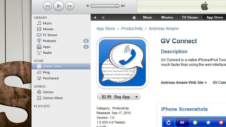 Unofficial Google Voice apps officially land in the App Store