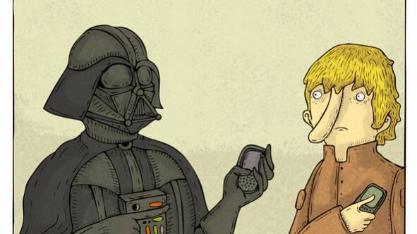 Darth Vader Finally Gets With The Times.
