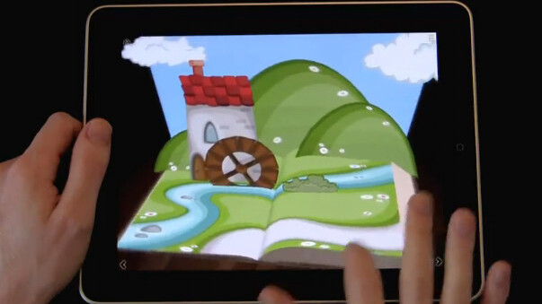 Grimm's Rumpelstiltskin brings the pop-up book experience to your iPad