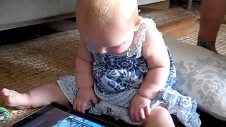 When Toddlers Go iPad App Shopping Wild
