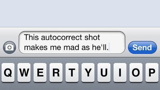The Problem With iPhone Typing