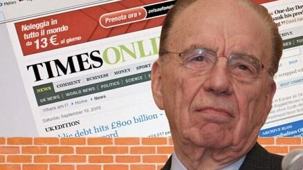 The Times' Paywall Momentarily Falls Over