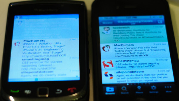 First Look: HootSuite for BlackBerry, Watch Out UberTwitter
