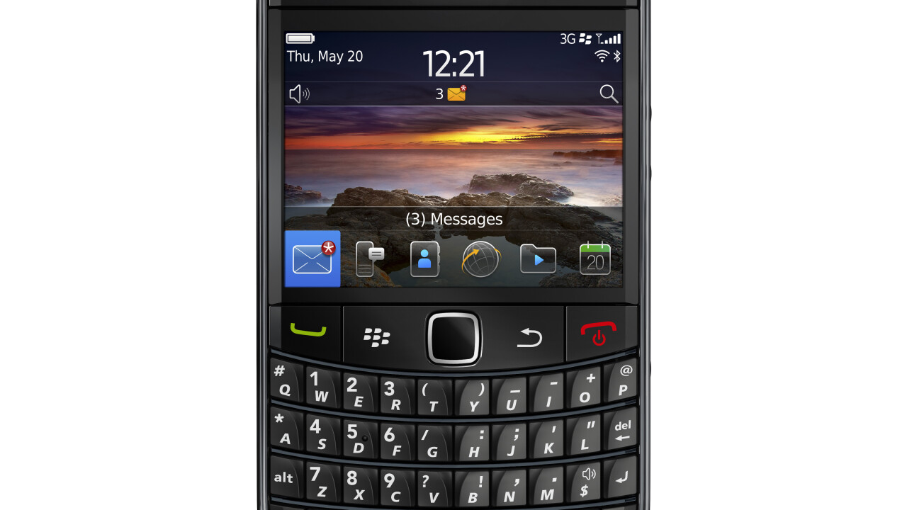 RIM makes BlackBerry Bold 9780 official, available worldwide in November
