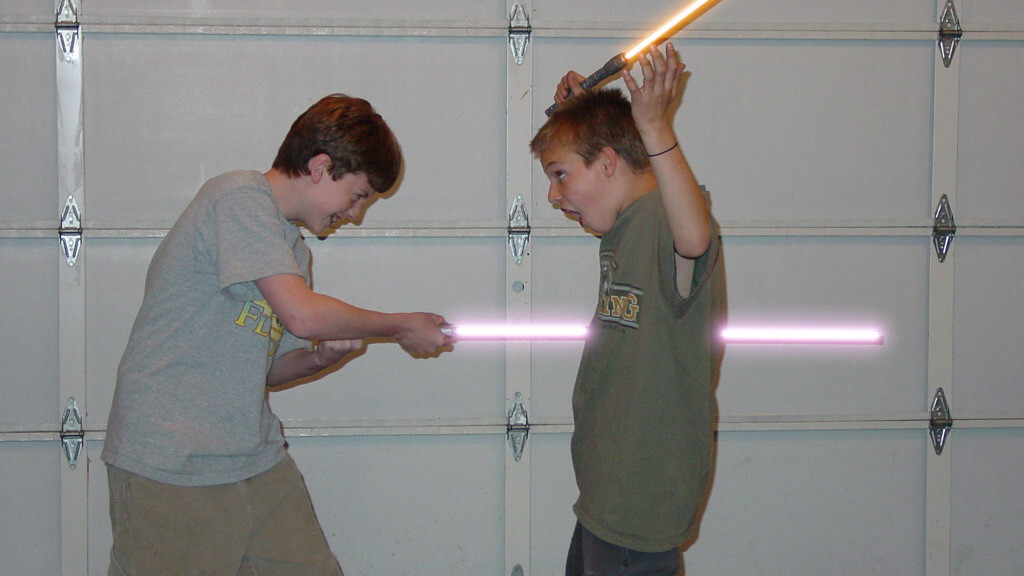 Kinect Hack Unleashes Unofficial Lightsaber Action