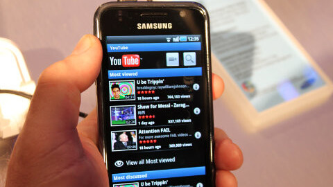 Samsung becomes first advertiser to run ads on YouTube's mobile site