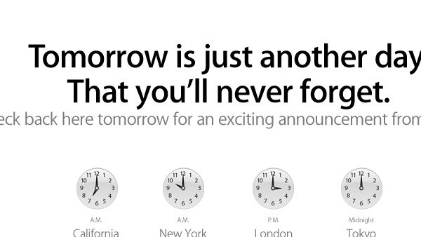 Apple has an exciting iTunes announcement coming tomorrow