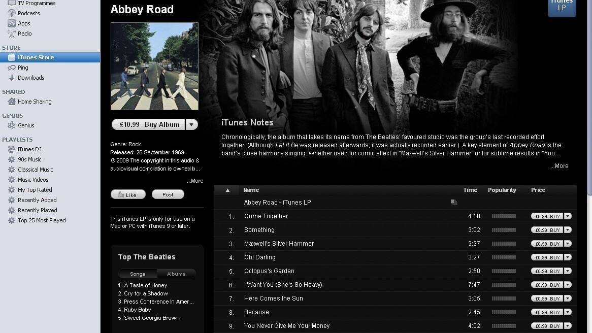 EMI wins $950,000 in copyright infringement lawsuit over Beatles songs