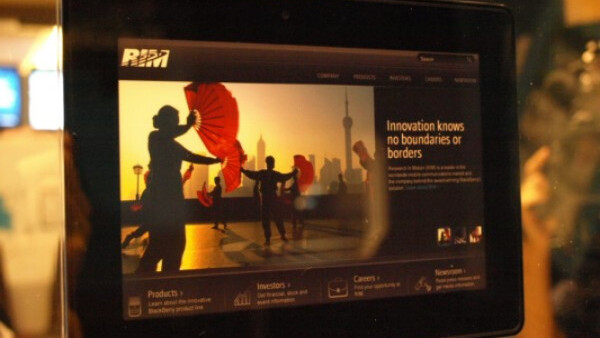 A Brief Tour of the Blackberry Playbook [Video]