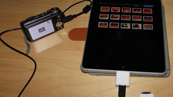 iOS 4.2 Cripples iPad Camera Connection Kit