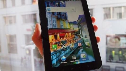 Samsung Galaxy Tab Passes One Million Units Sold