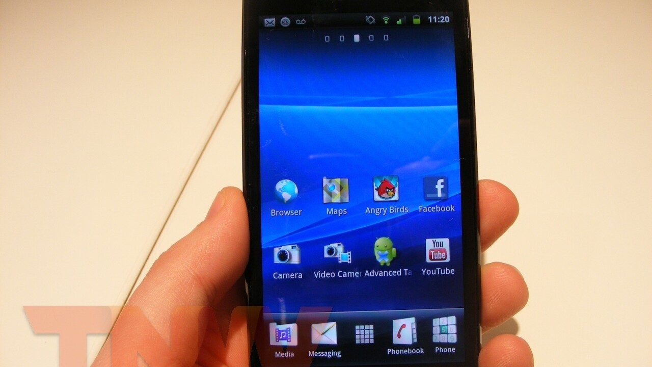 """Xperia Arc Handsets With Android 2.4 Were """"Misconfigured"""""""