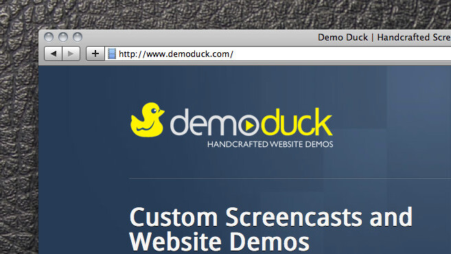 You have a website, you want a demo video. You need Demo Duck.