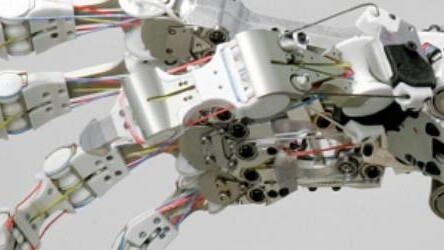 Terminator's hand? It's back, in the form of a German robot.