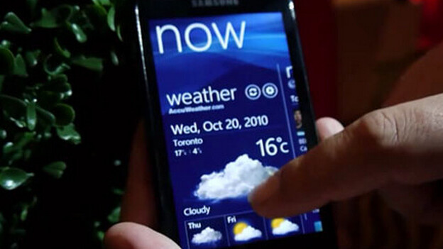 An update for Windows Phone 7 is live, but it's not the one you want
