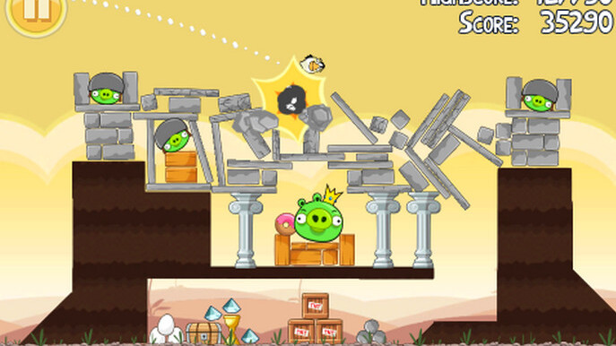 Angry Birds coming to Windows Phone 7 on April 6th