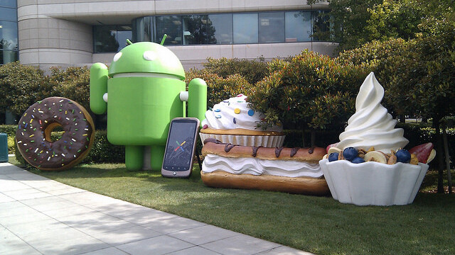 Almost 90% Of Android Devices Run Android 2.1 Or Above