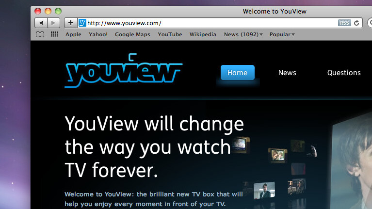 """UK Internet TV service YouView confirms delays, will launch """"early 2012"""""""