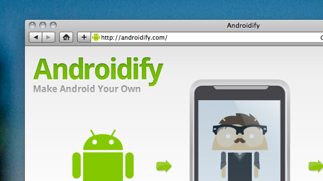 Android fan? Androidify yourself with the official mobile app.