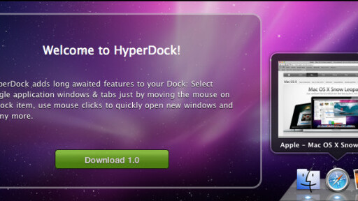 HyperDock makes your OSX dock even sexier