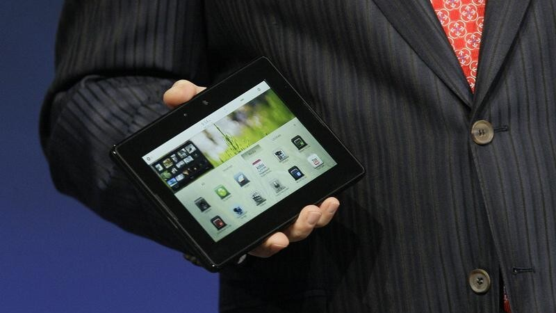 RIM announces new LTE and HSPA+ BlackBerry PlayBook models