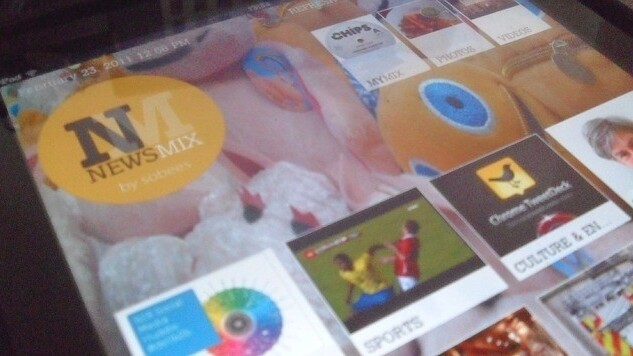 Social iPad magazine NewsMix beats rival Flipboard in leaping to the Web