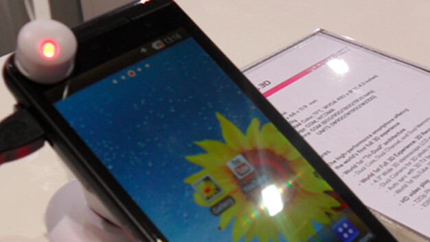 Hands on with the LG Optimus 3D [Video]
