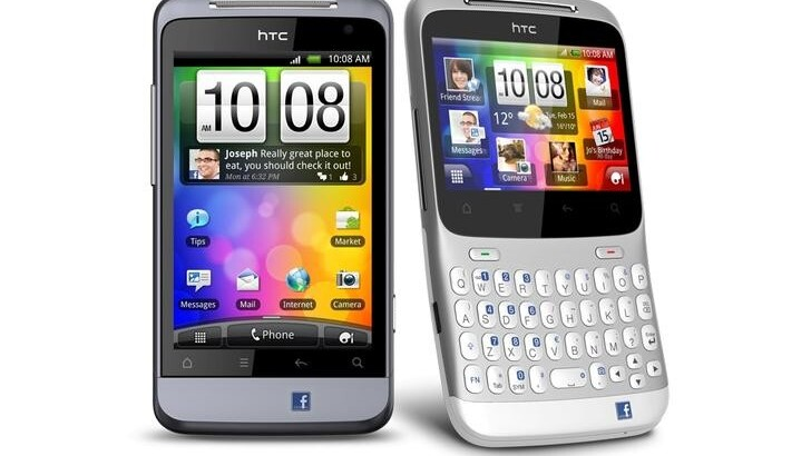 HTC announces the HTC Salsa and HTC ChaCha, the Facebook phones you were looking for