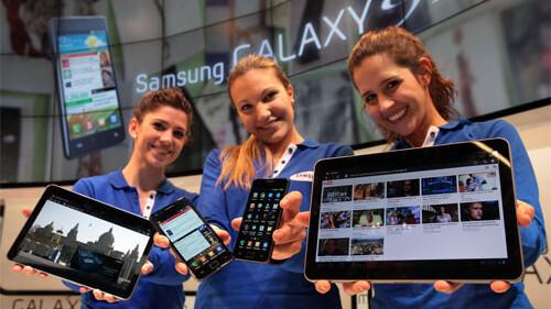 Samsung Galaxy S II and 10-inch Galaxy Tab emerge in official shots