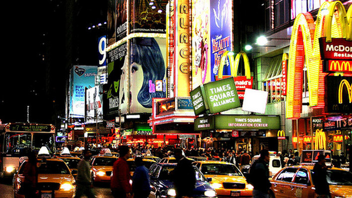 Microsoft rents giant section of Times Square to promote Windows Phone 7