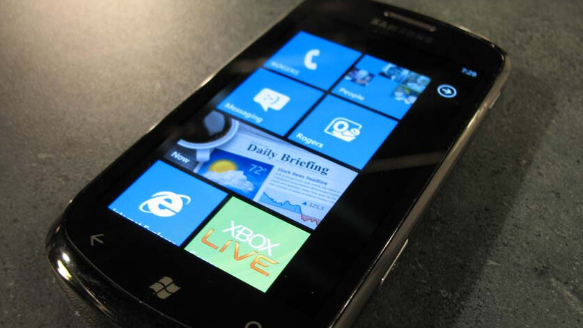 Microsoft to unveil Windows Phone 7 roadmap in May