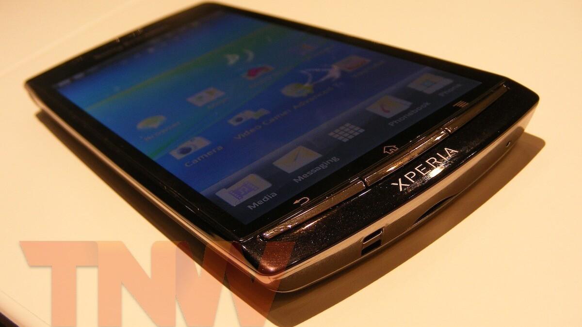 Sony Ericsson's Xperia Arc shows off its impressive auto-focus capabilities