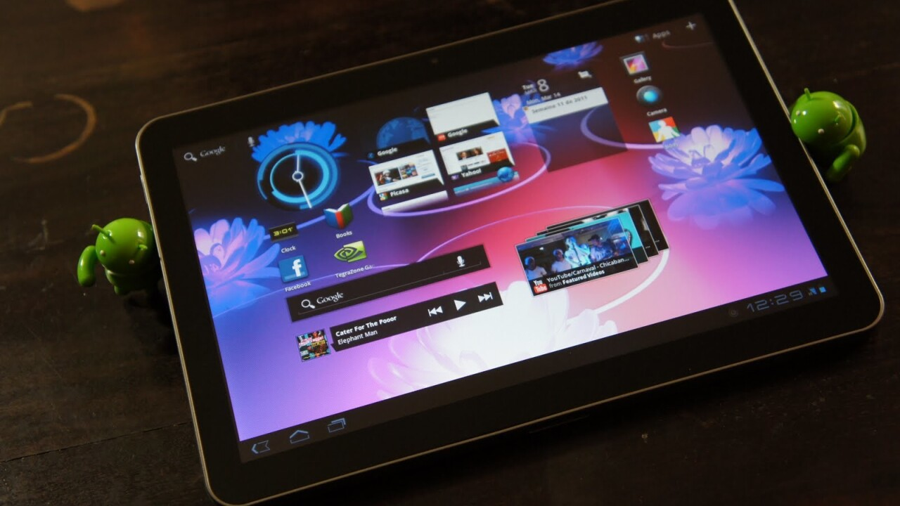 Comprehensive video overview of Samsung Galaxy Tab 10.1 emerges