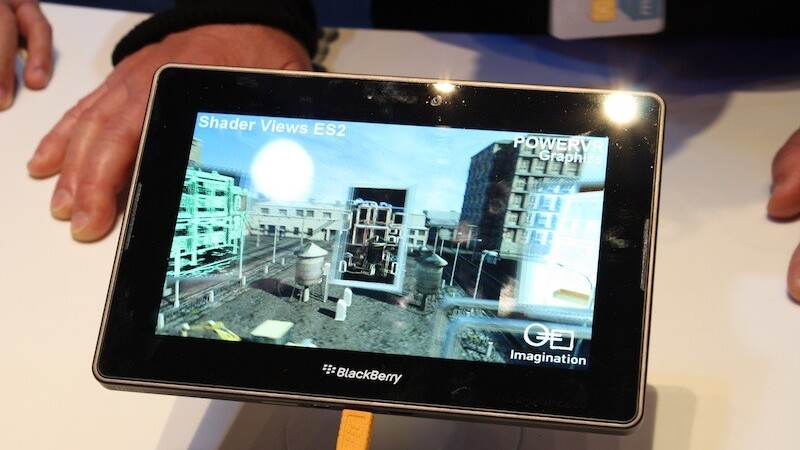 Official: BlackBerry Playbook Will Support Android Apps