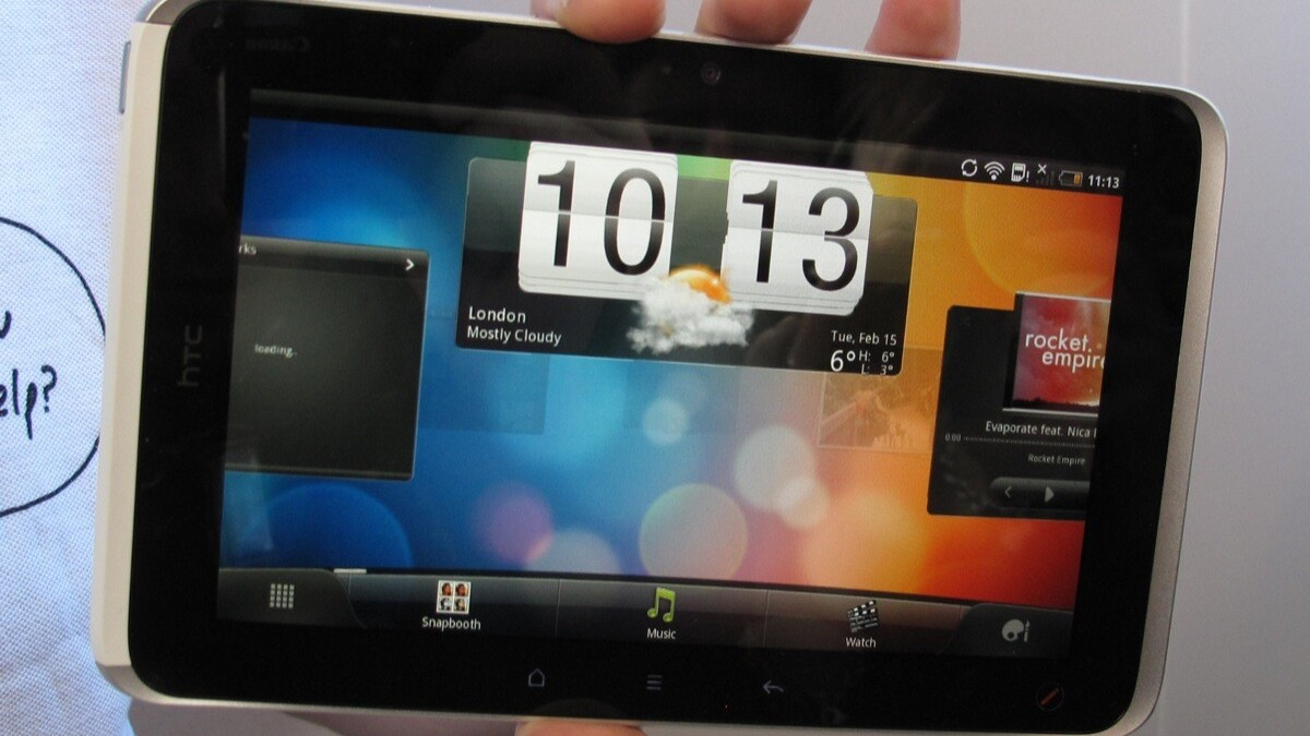 HTC Flyer Gets Full Video Overview