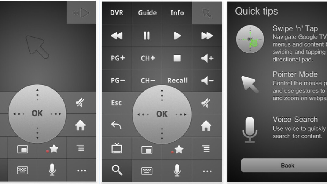 Google releases TV remote control app for iPhone