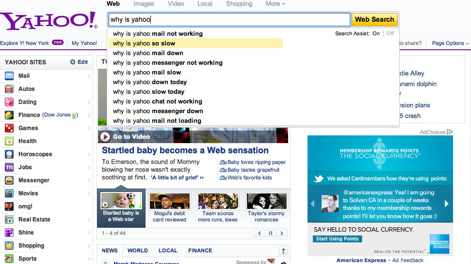 Yahoo! Instant Shows You Instantly… Why Yahoo! Sucks