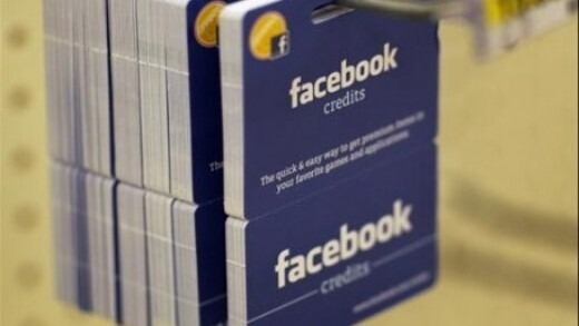 Facebook Credits coming to India soon