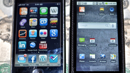 Browsing on Android 52% faster than iPhone, report finds